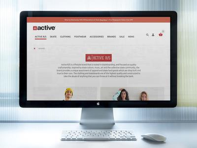 Brand Landing Page