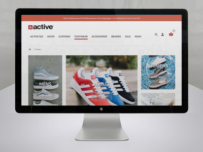 Shoes Page
